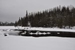 Gunflint Narrows, February 2013.