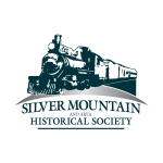 Silver Mountain Historical Society logo.