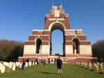Thiepval Memorial, March 2014.