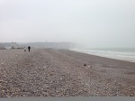 Dieppe beach, March 2014.