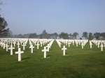Omaha Beach Cemetery, March 2014.