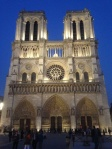 Notre Dame, March 2014.