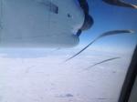Frozen Lake Superior, March 2014.