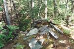 Rock oven, Gunflint Lake, August 1994.