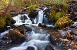 Bridal Falls, Gunflint Lake, October 2014.