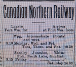 Railway timecard, October 1902.