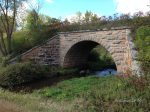 Great Northern RR stone bridge, South Fork, MN, September, 2016.